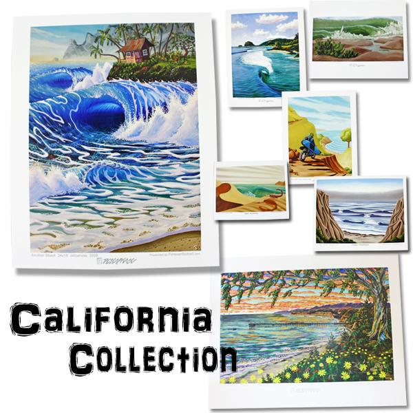 CALIFORNIA COLLECTION カリフォルニアコレクション サーフアート プリントアート