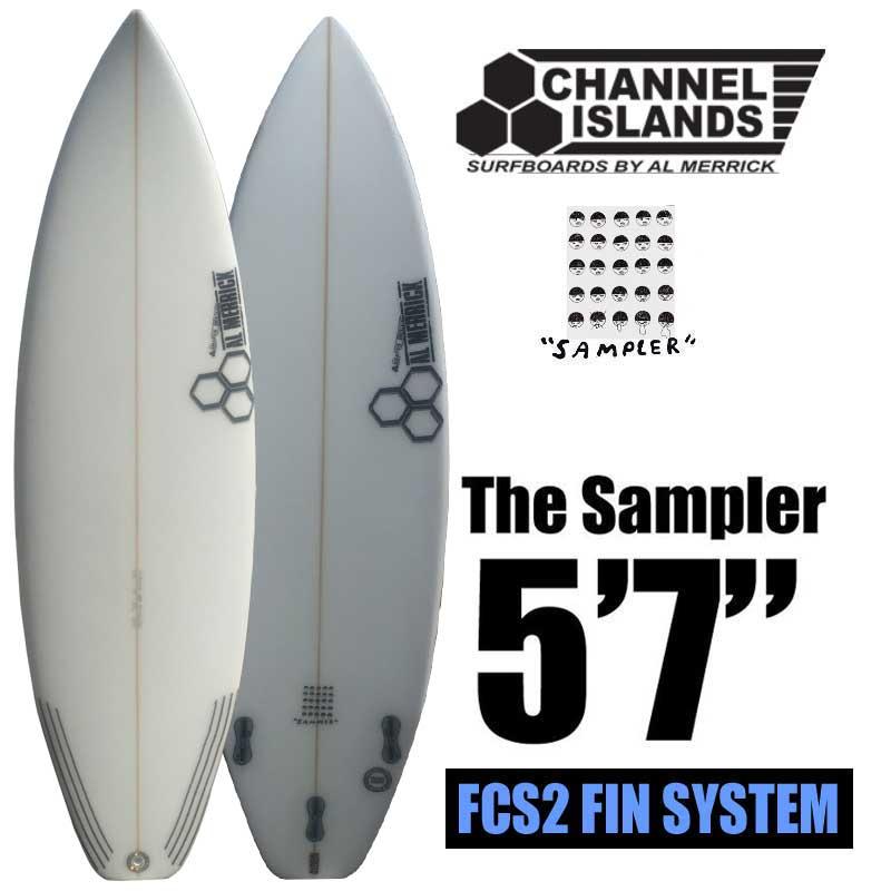 ショートボード CHANNEL ISLANDS チャネルアイランド The Sampler 5'7