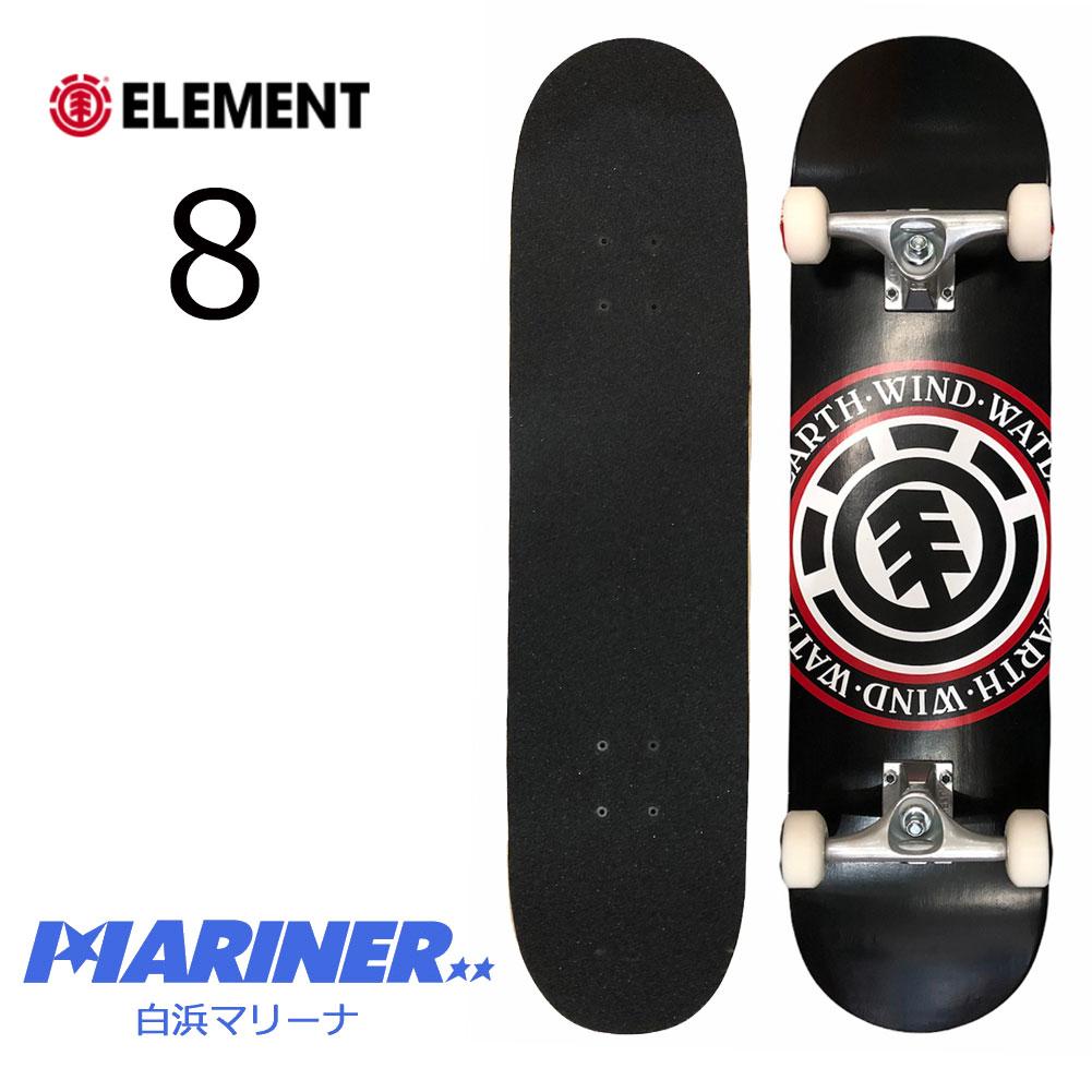 スケートボード エレメント シール コンプリートデッキサイズ 8 ELEMENT SEAL