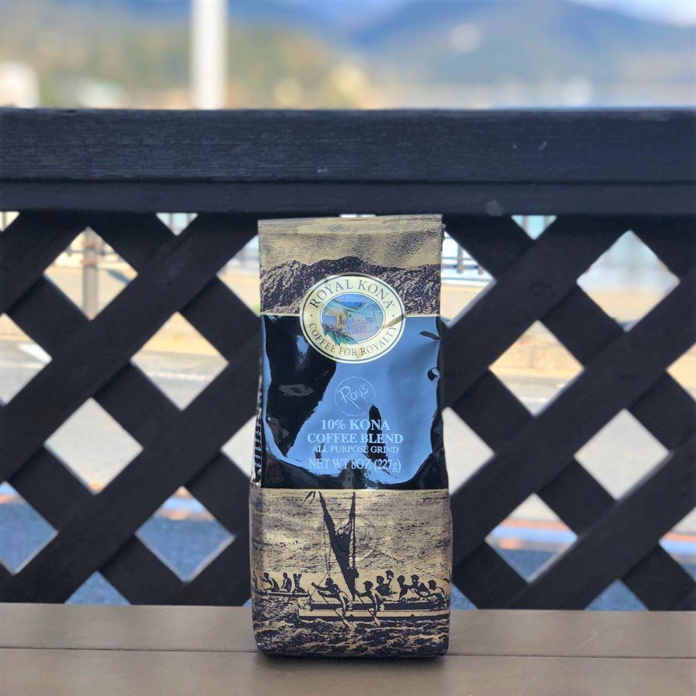 ROYAL KONA Coffee ロイヤルコナコーヒー  10% Kona CoffeeBlend ロイズ 8oz 227g
