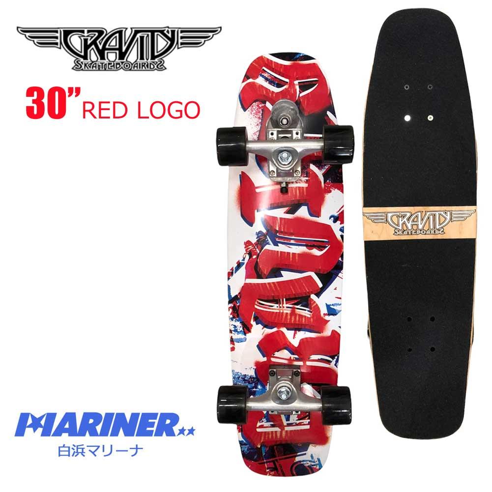 スケートボード コンプリート グラビティ 30インチ ミニ レッドロゴ GRAVITY 30 MINI RED LOGO
