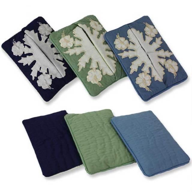 ハワイアンキルト ハイビスカス柄 ポケットティッシュケース ハワイアン雑貨 Hawaiian quilt