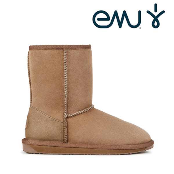 【30%OFF】【現品限り】EMU シープスキンブーツ STINGER LO スティンガーロー  ユニセックスシープスキンブーツ EMUムートンブーツ
