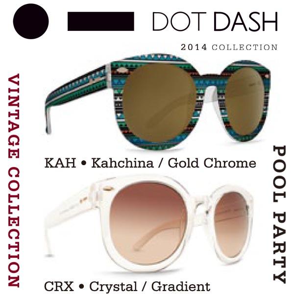 DOT DASH ドットダッシュサングラス POOL PARTY