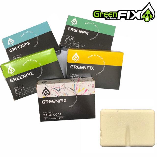 【条件付き送料無料】GREEN FIX グリーンフィックスワックス 90g サーフィン用ボードワックス / サーフボード滑り止め サーフィン用品