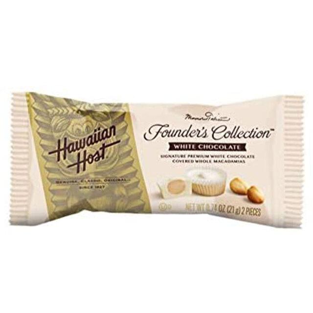 ハワイアンホースト ホワイトチョコレートバー 2粒 Hawaiian Host hhca012