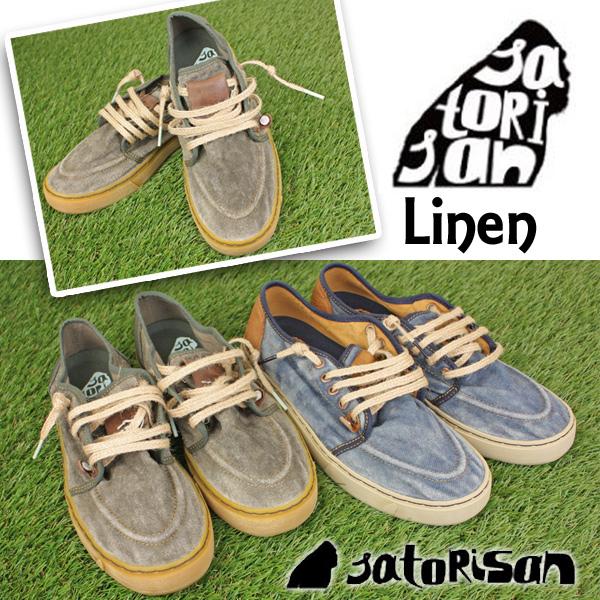 Satorisan サトリサン シューズ スッキリ SUKKIRI P61 Linen ユニセックスシューズ 靴 スニーカー サーフィン