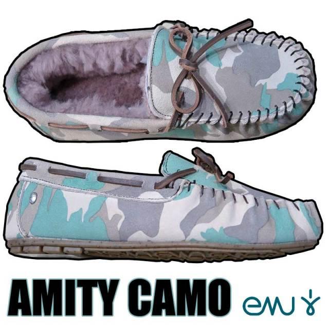 【現品限り】【20%OFF】EMU エミュー ドAMITY CAMO  W6(23cm) アミティ カモ柄 日本限定【目玉商品】