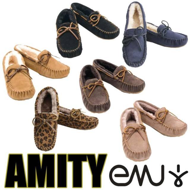 EMU エミュー AMITY アミティ モカシン/シープスキン シューズ