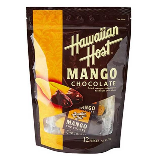 ハワイアンホースト ドライマンゴーチョコレート 12袋 ws