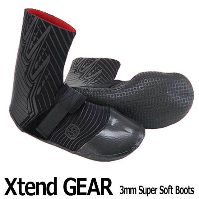 Xtend GEAR サーフブーツ 3mm Super Soft Boots
