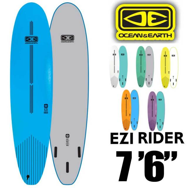 OCEAN&EARTH EZI RIDER SOFT BOARD 7'6 サーフボード ソフトボード / 初心者用ボード サーフィン