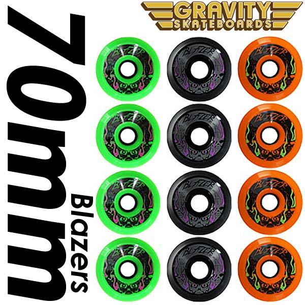 GRAVITY WHEELS グラビティーウィール Blazersブレイザー4個セット/グラビティスケートボード サーフスケート サーフィン SK8