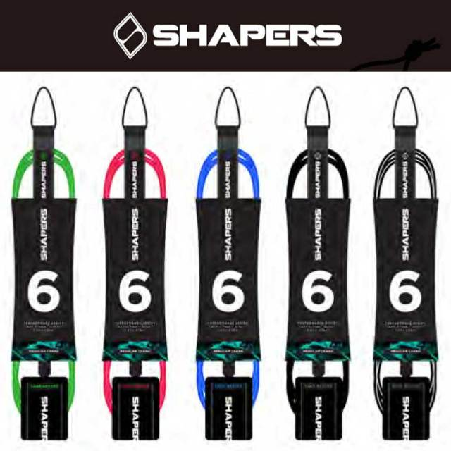 SHAPERS LEASH CORD 6.0ft スプリーモ レギュラーモデル
