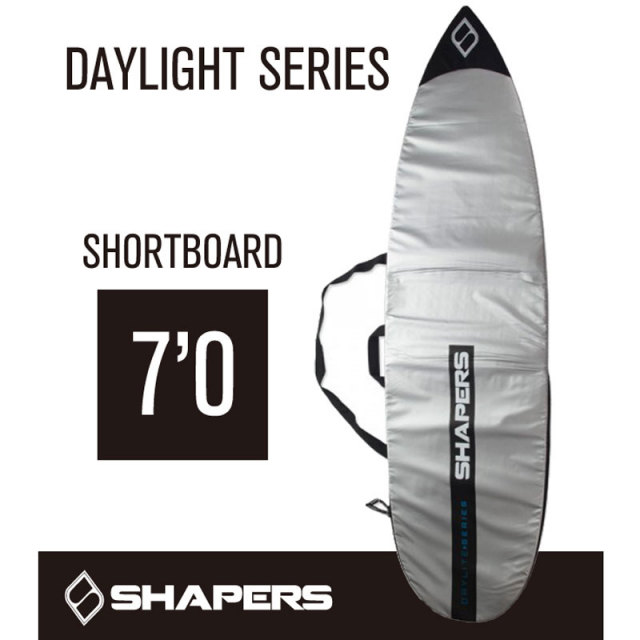 SHAPERS Board case シェーパーズ ボードケース DAYLIGHT SERIES デイライトシリーズ ショートボード 7'0