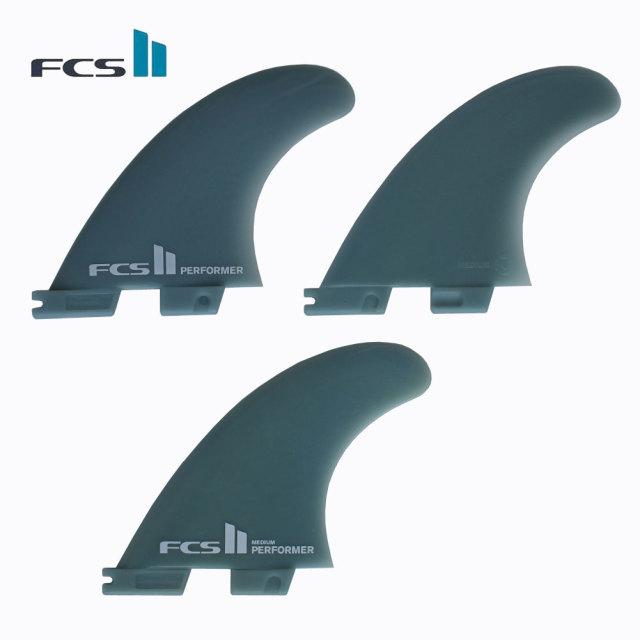 【送料無料】FCS2フィン パフォーマーグラスフレックス 3フィン ミディアム Performer GlassFlex Medium/ ショートボードフィン