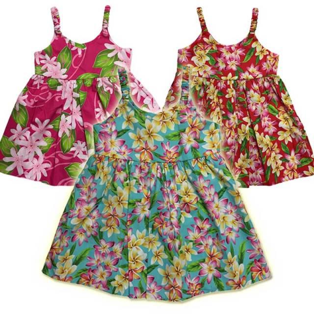 子供服ハワイアンムームー キッズワンピース 3歳~4歳/女の子用ワンピース
