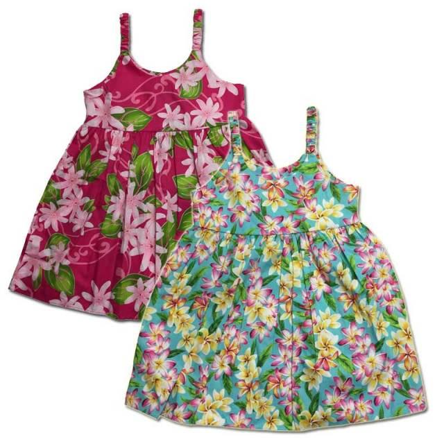 子供服ハワイアンムームー キッズワンピース 5歳~6歳/女の子用ワンピース