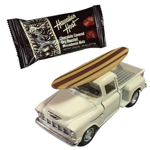 バレンタインギフト フォード ピックアップトラックミニカー サーフ×チョコバーセット