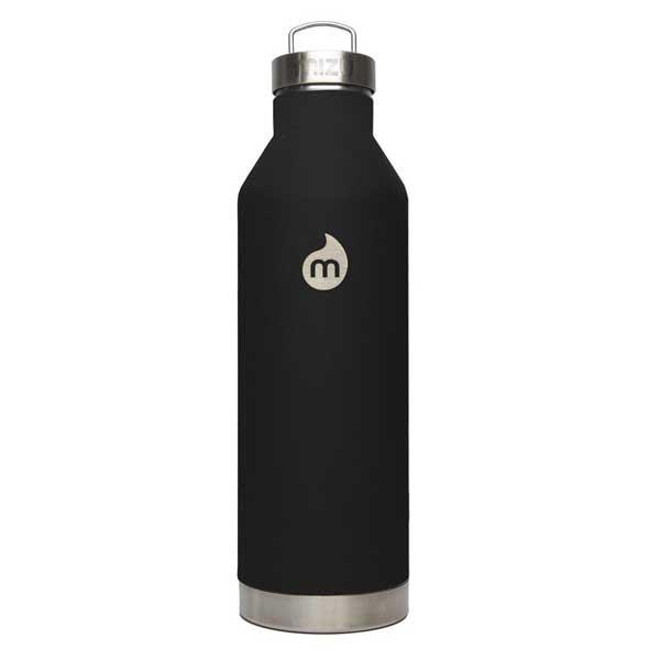 mizu ミズ 水筒 V8 800ml 真空二層構造ステンレスウォーターボトル ST Black