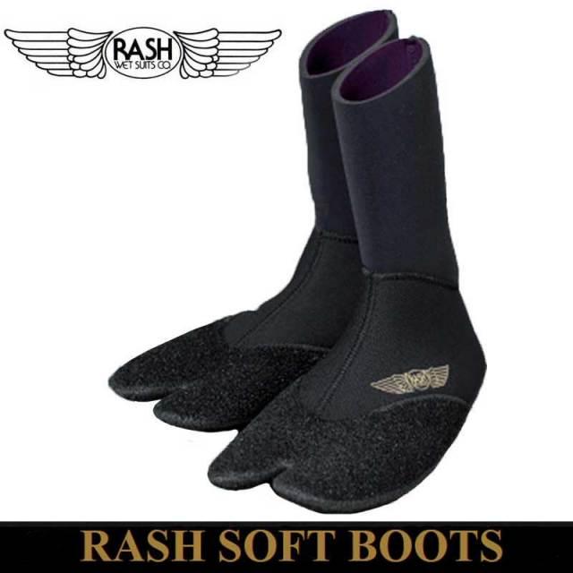 RASH SOFT BOOTS 3.5mm ラッシュソフトブーツ/男性用 女性用 防寒サーフ用品