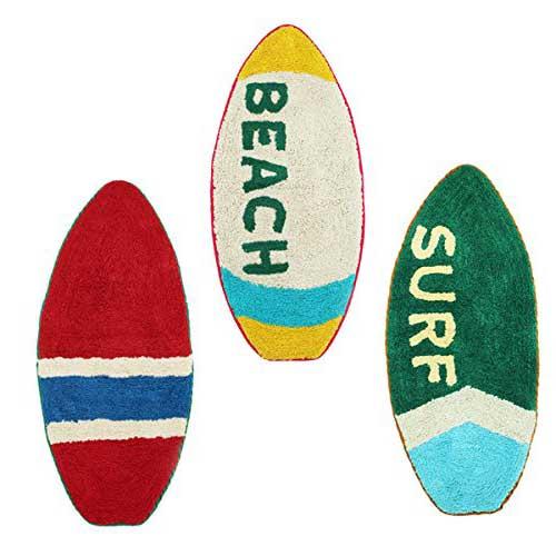 サーフボード型マット/フロアマット 玄関マット  生活用品 日用雑貨