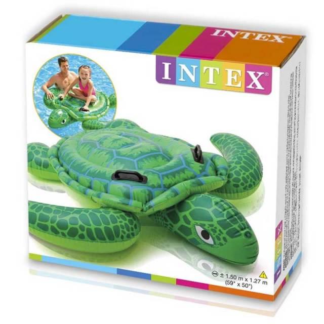 INTEX インテックス リルシータートルライドオン 57524/浮き輪