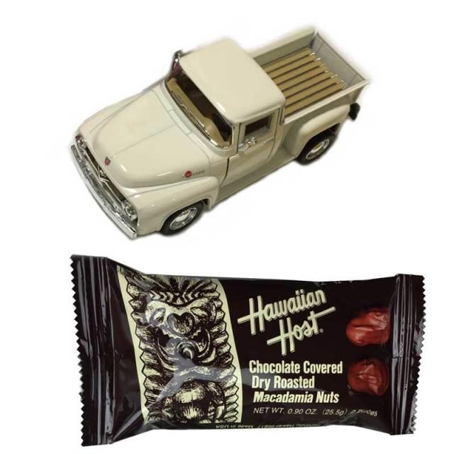 バレンタインギフト フォードピックアップトラックミニカー×チョコバーセット