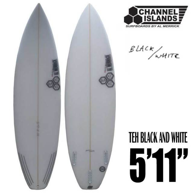 CHANNEL ISLANDS チャンネルアイランド The Black and White 5'11""