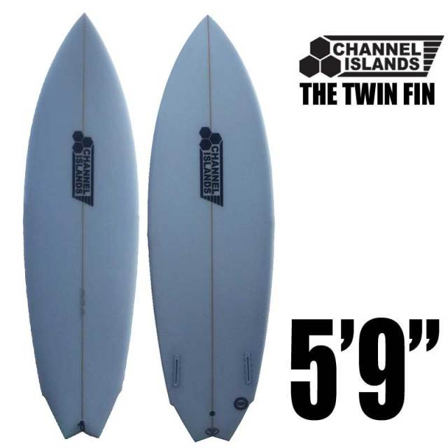 CHANNEL ISLANDS  THE TWIN FIN 5'9/FUTURE