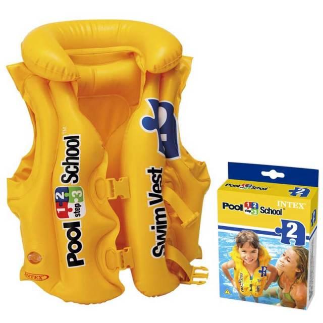 子供用 水中 スイムベスト INTEX インテックス プール スクール 58660 キッズ