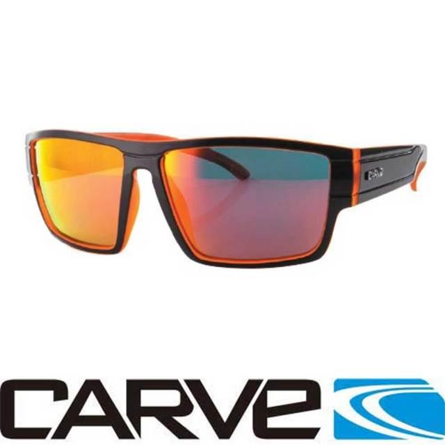 CARVE カーブサングラス Sublime サブライム  REVO/ポラライズレンズ ブラック/オレンジ