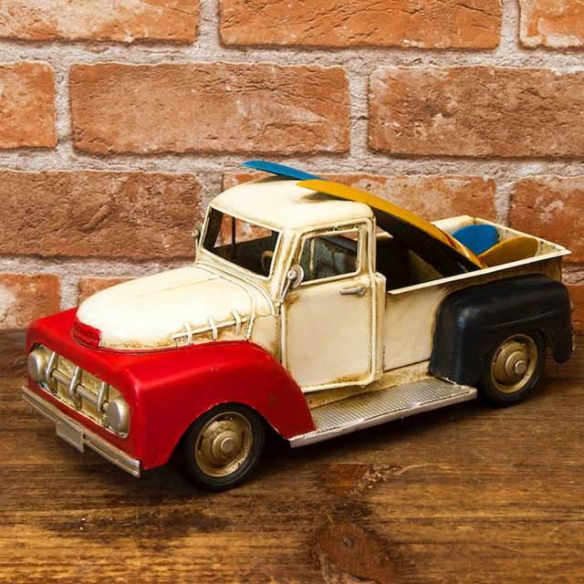 ブリキのおもちゃ ヴィンテージカー サーフトラック Surf Truck 1504A-7736/ブリキ製インテリア