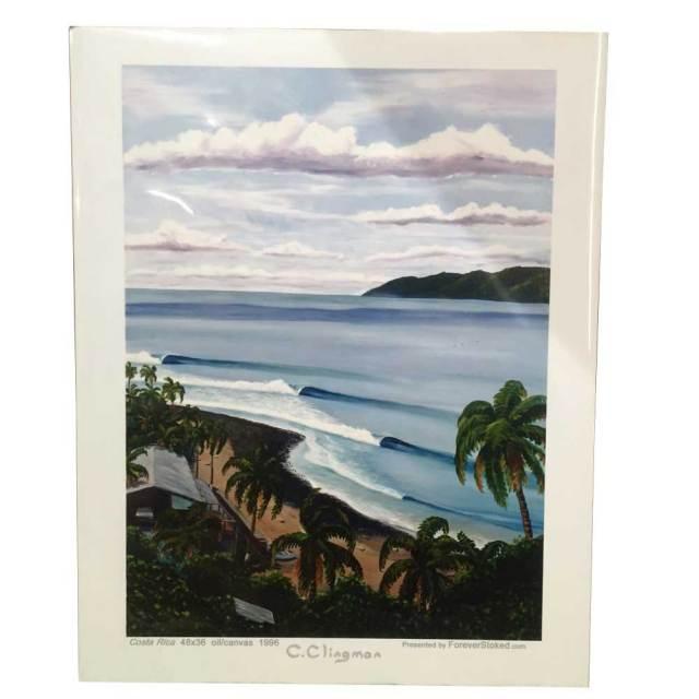 絵画 CALIFORNIA COLLECTION カリフォルニアコレクション  CHARLIE CLINGMAN COSTA RICA/サーフアート プリントアート