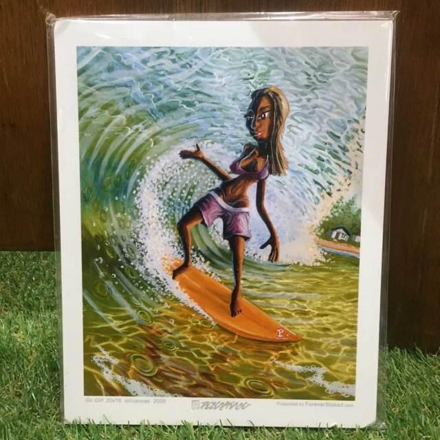 絵画 CALIFORNIA COLLECTION カリフォルニアコレクション  Peter Pierce GO GIRL
