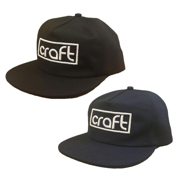 craft SNAPBACK CAP スナップバック キャップ/メンズ帽子/サーフィン カジュアル
