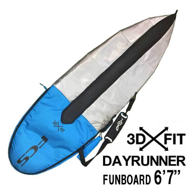 FCS エフシーエス サーフボードケース DAY RUNNER 6'7 FUNBOARD/ファンボード用