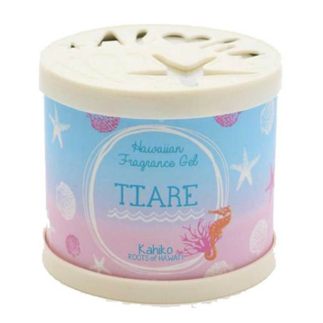 Kahiko シェル ジェルフレグランス 缶 4TKP5201/芳香剤 ハワイアン雑貨 インテリア