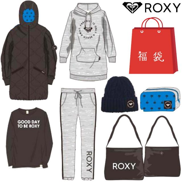 ROXY 2018年 ロキシー HAPPY BAG 福袋 レディースウェア