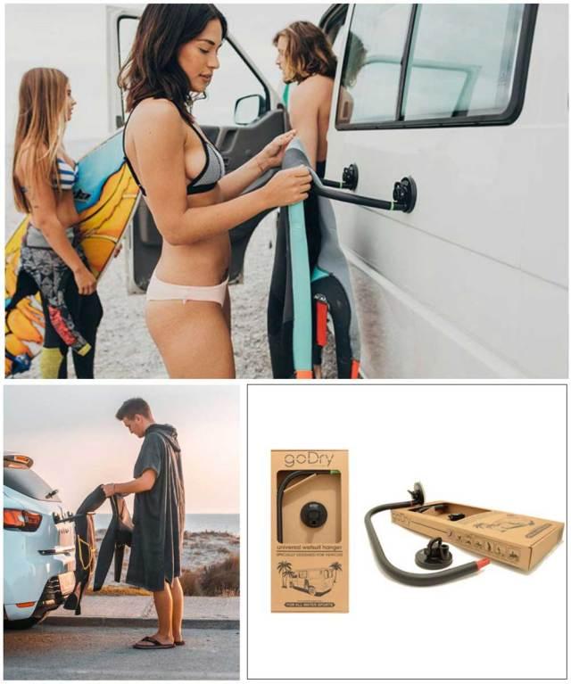 goDry wetsuits hanger ゴードライ ウェットスーツハンガー/アウトドア用品 便利グッズ サーフィン