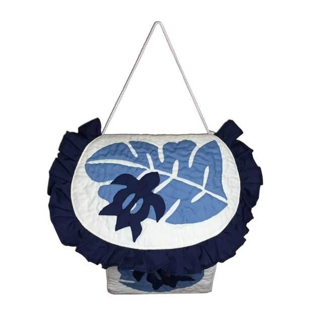 ハワイアンキルト トイレットペーパーホルダー モンステラ×ホヌ/ Hawaiian Quilt インテリア雑貨 ハワイアン雑貨