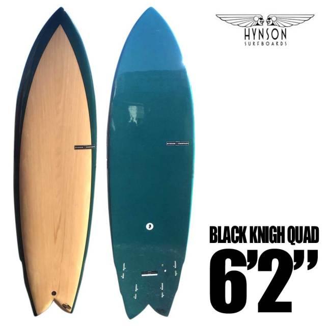 HYNSON ヒンソン BLACK KNIGH QUAD 6'2 ブラックナイト クアッド SURF BOARDS/ショートボード