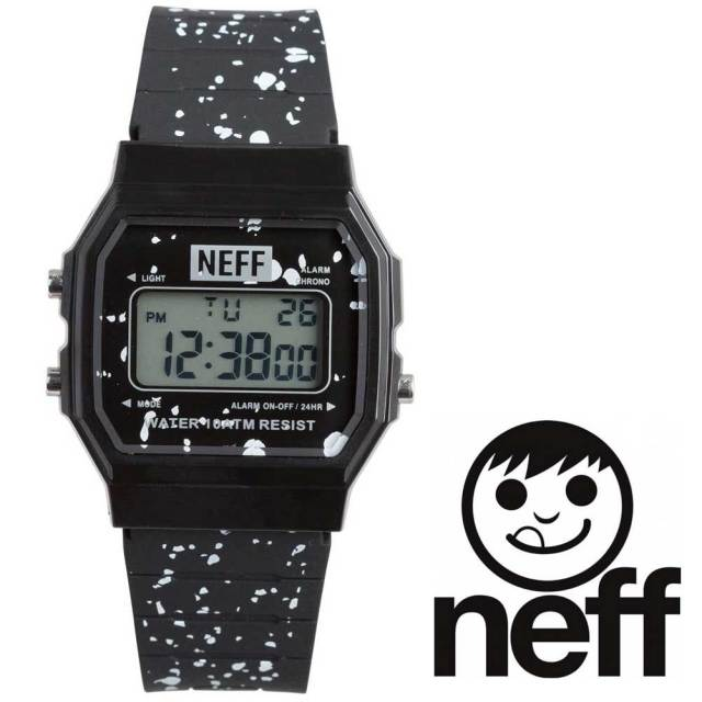 Neff ネフ メンズ腕時計 FLAVA XL SURF WATCH CREW BLACK NF0226