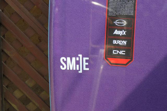 NMD SMILE NEW PRORIDE レディースモデル 37.5インチ ボディボード スマイル ニュープロライド 小柄な女性 子供