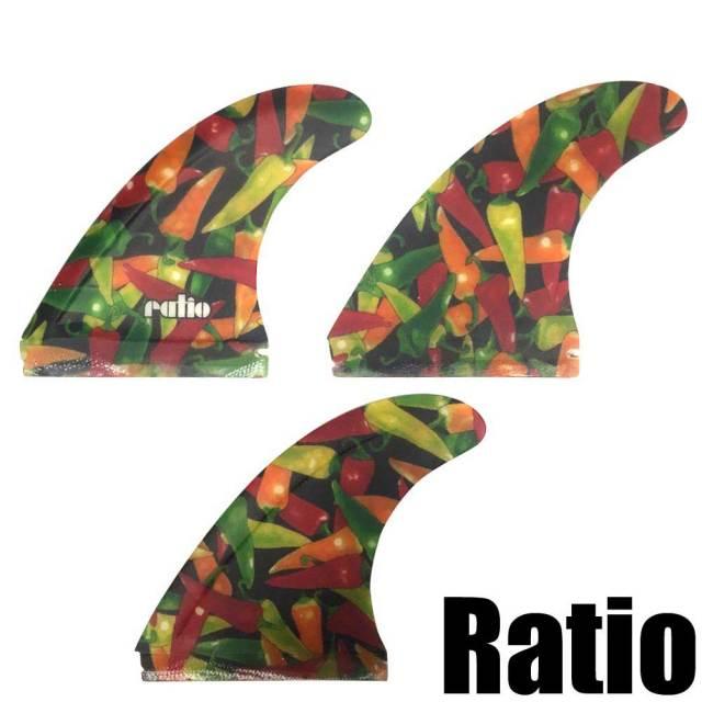 ratio fin レイシオフィン フラップモータースピードフィン  FUTURE  3FIN/ショートボードフィン サーフィン