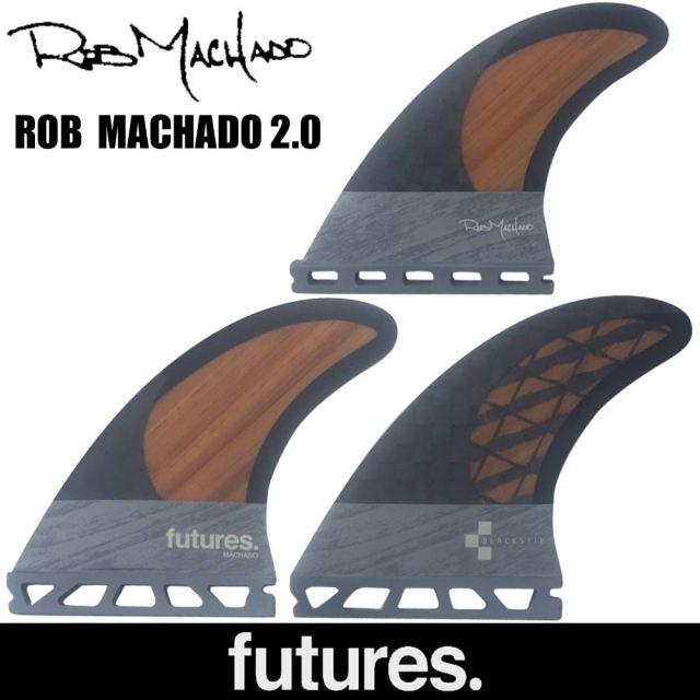 FUTURE FINS ROB MACHADO 2 CARBON BAMBOO/Futures フューチャーフィン ショートボードフィン サーフィン