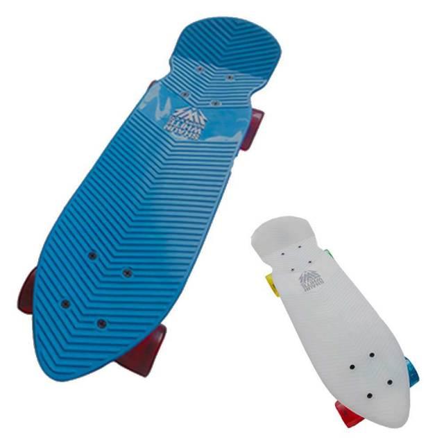 ショーンホワイト レトロダーツホワイト スケートボード/SHAUN WHITE