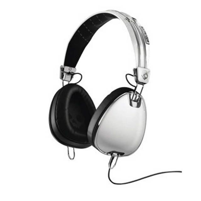 SKULL CANDY スカルキャンディーヘッドフォン Aviator White Mic3/S6AVFM-158 ミュージックヘッドフォン