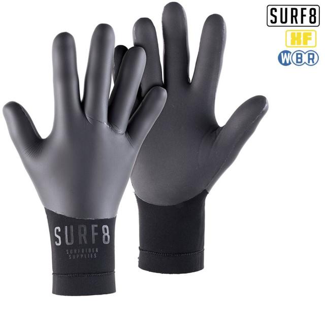 SURF8 3mm スムースラバーグローブ 87F2X8 SMOOTH RUBBER GLOVES/サーフエイト 手袋 防寒サーフ用品