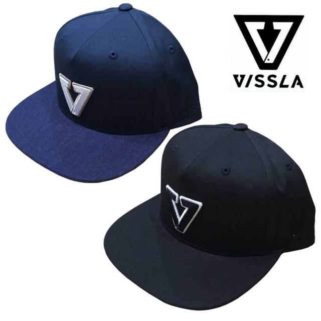 VISSLA ヴィスラ キャップ CALIPHER CAP/MAHTECRT17FA スナップバックキャップ